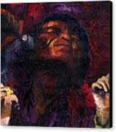 Jazz James Brown Canvas Print