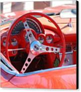 Little Red Corvette Canvas Print