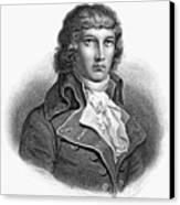 Louis Saint-just (1767-1794) Canvas Print