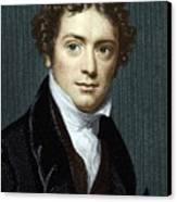 Michael Faraday, British Physicist Canvas Print by Sheila Terry