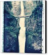 Multnoma Falls Canvas Print by Joe  Palermo