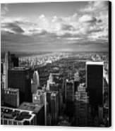 Nyc Central Park Canvas Print by Nina Papiorek