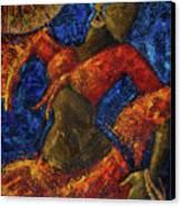 Passion Canvas Print by Oscar Ortiz