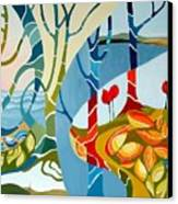 Seasons Of Creation Canvas Print by Carola Ann-Margret Forsberg