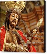 Senhor Bom Jesus Da Pedra Canvas Print by Gaspar Avila
