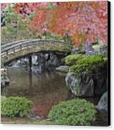 Sento Imperial Palace Gardens Lake Canvas Print by Rob Tilley