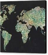 Shattered World Canvas Print