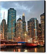 South Street Seaport Canvas Print