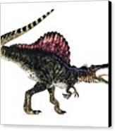 Spinosaurus Dinosaur, Artwork Canvas Print