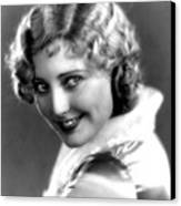 Thelma Todd, Portrait Ca. 1935 Canvas Print