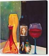 Untitled Glass Canvas Print