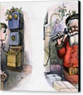 Thomas Nast: Santa Claus Canvas Print