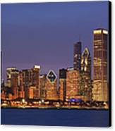 2010 Chicago Skyline Canvas Print