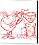 Mr Redhair Serie Canvas Print