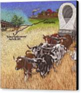 25th Anniversary Santa Fe Trail Association Canvas Print