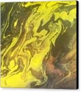 Abstract Pour  Canvas Print