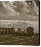 Aladaglar Mountains Canvas Print by Gabriela Insuratelu