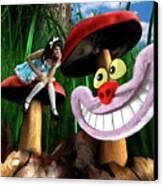 Alice In Wonderland Canvas Print by Oleksiy Maksymenko