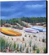 3 Boats Canvas Print
