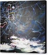 Buckwheat Field Canvas Print