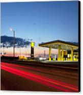 Estonian Gas Station Canvas Print by Jaak Nilson