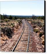 Grand Canyon Railway Canvas Print by Thomas R Fletcher