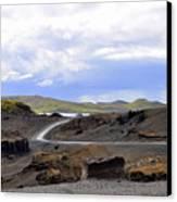 Iceland Landscape Canvas Print