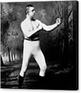 John L. Sullivan (1858-1918) Canvas Print by Granger