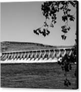 Mcnary Dam Canvas Print by Robert Bales