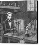 Michael Faraday (1791-1867) Canvas Print by Granger