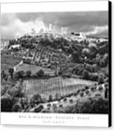 San Gimignano Tuscany Italy Canvas Print