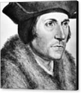 Sir Thomas More (1478-1535) Canvas Print by Granger