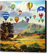 Sky Full Of Color Canvas Print