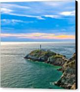 South Stack Lighthouse Canvas Print by Gary Finnigan