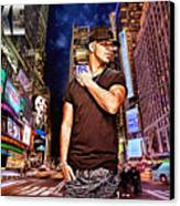 Street Phenomenon Drake Canvas Print by The DigArtisT