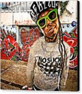 Street Phenomenon Lil Wayne Canvas Print by The DigArtisT