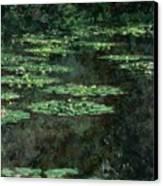 Waterlilies Canvas Print by Claude Monet
