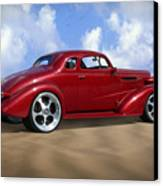 37 Chevy Coupe Canvas Print