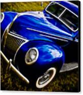 39 Ford V8 Coupe Canvas Print