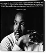 39- Martin Luther King Jr. Canvas Print by Joseph Keane