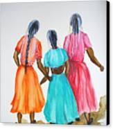 3bff Canvas Print by Karin  Dawn Kelshall- Best