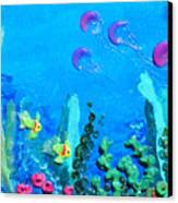 3d Under The Sea Canvas Print by Ruth Collis