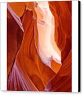 Antelope Canyon Canvas Print by Carl Amoth