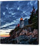 Bass Harbor Lighthouse Canvas Print by John Greim