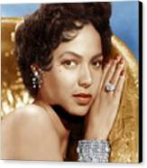 Dorothy Dandridge, Ca. 1950s Canvas Print