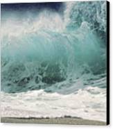 North Shore Wave Canvas Print by Vince Cavataio - Printscapes