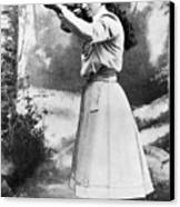 Annie Oakley (1860-1926) Canvas Print by Granger