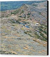 Appalachian Trail - White Mountains New Hampshire Usa Canvas Print