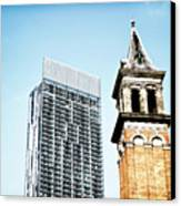 Manchester - Beetham Tower Canvas Print by Hristo Hristov
