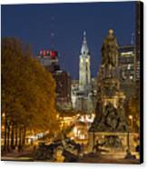 Philadelphia Skyline Canvas Print by John Greim
